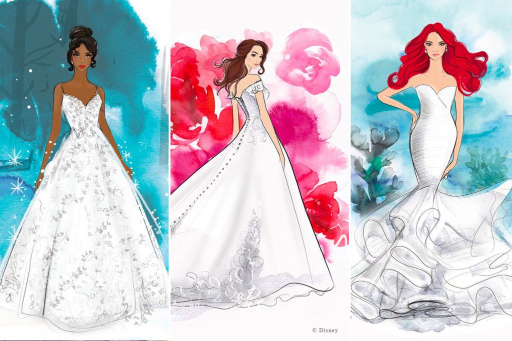 Disney princess wedding dresses now available for grown women